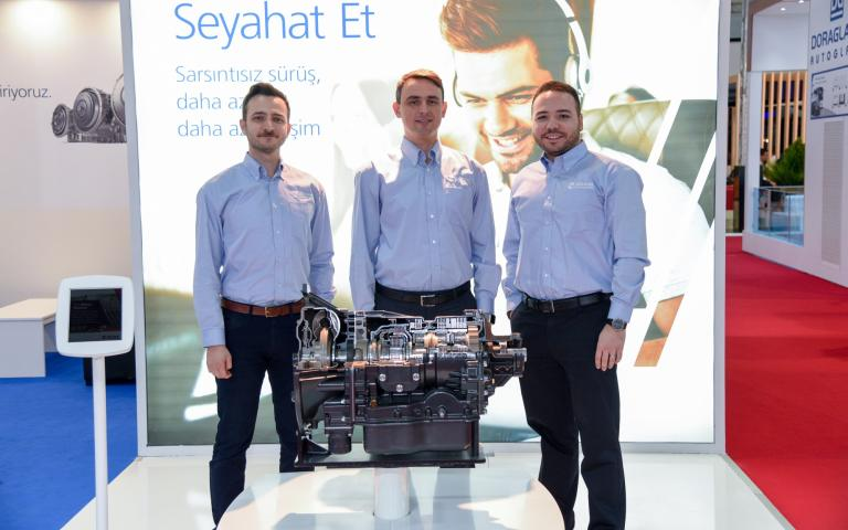 A picture taken at Busworld Turkey 2020
